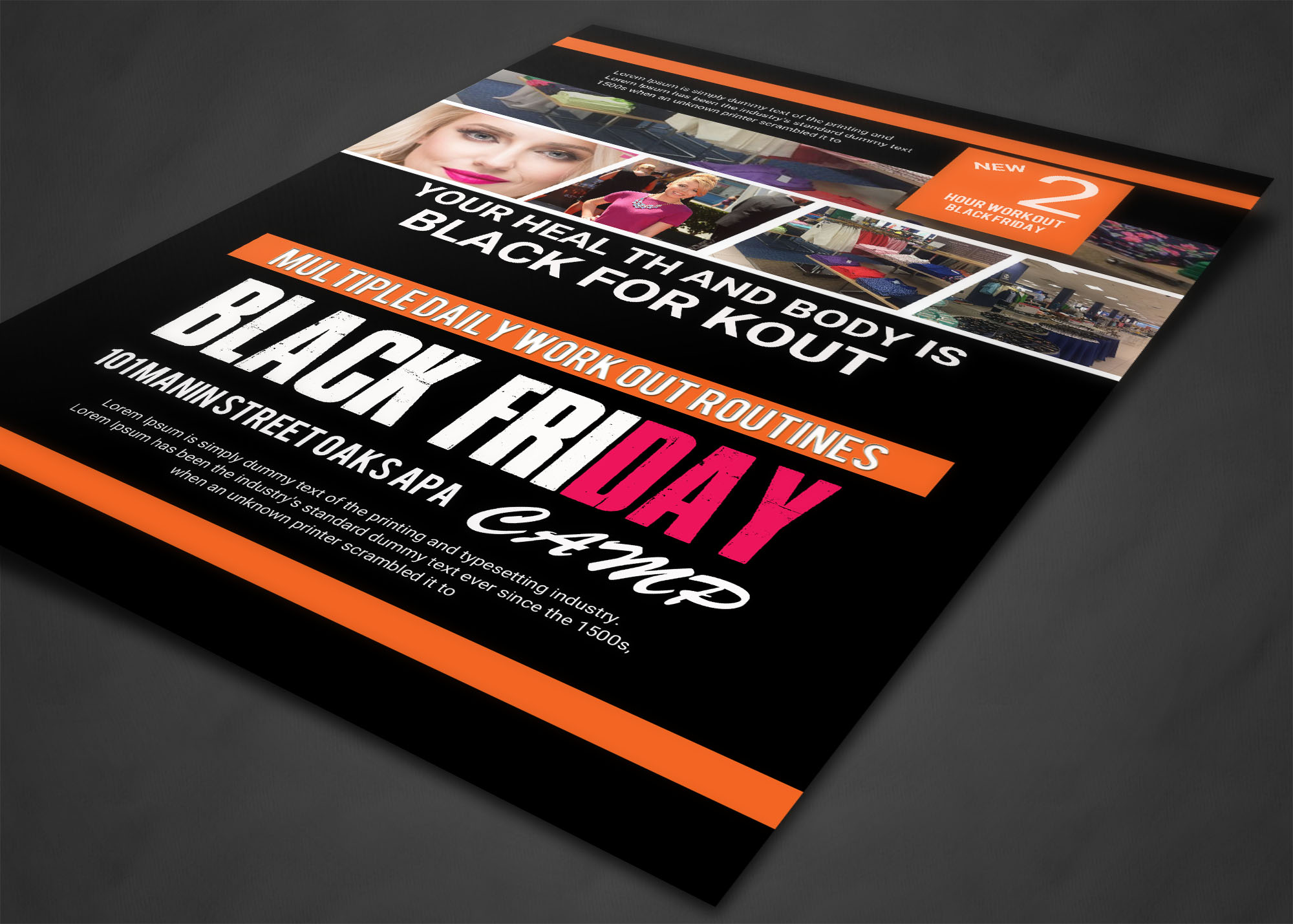 BLACK FRIDAY FLYER example image 5