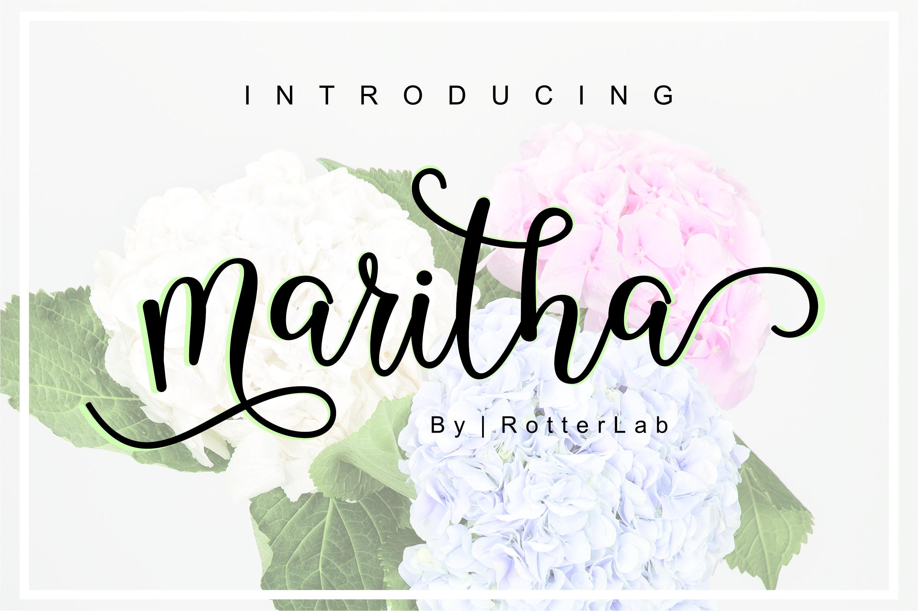 Maritha Script example image 1
