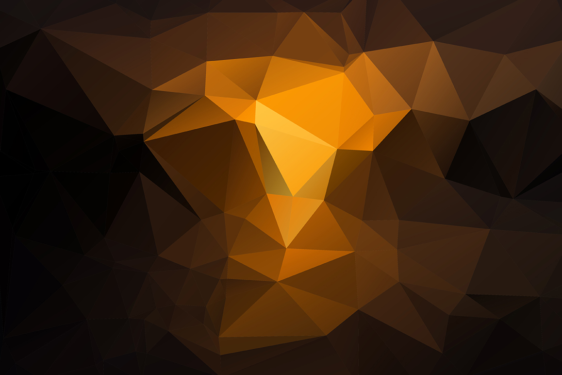 Polygon vector backgrounds set example image 2