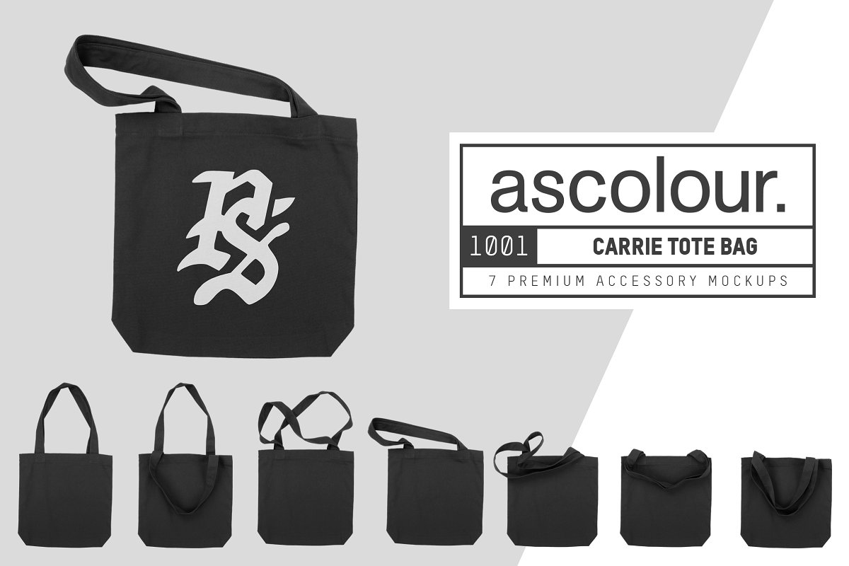 AS Colour 1001 Carrie Tote Bag Mocks example image 1