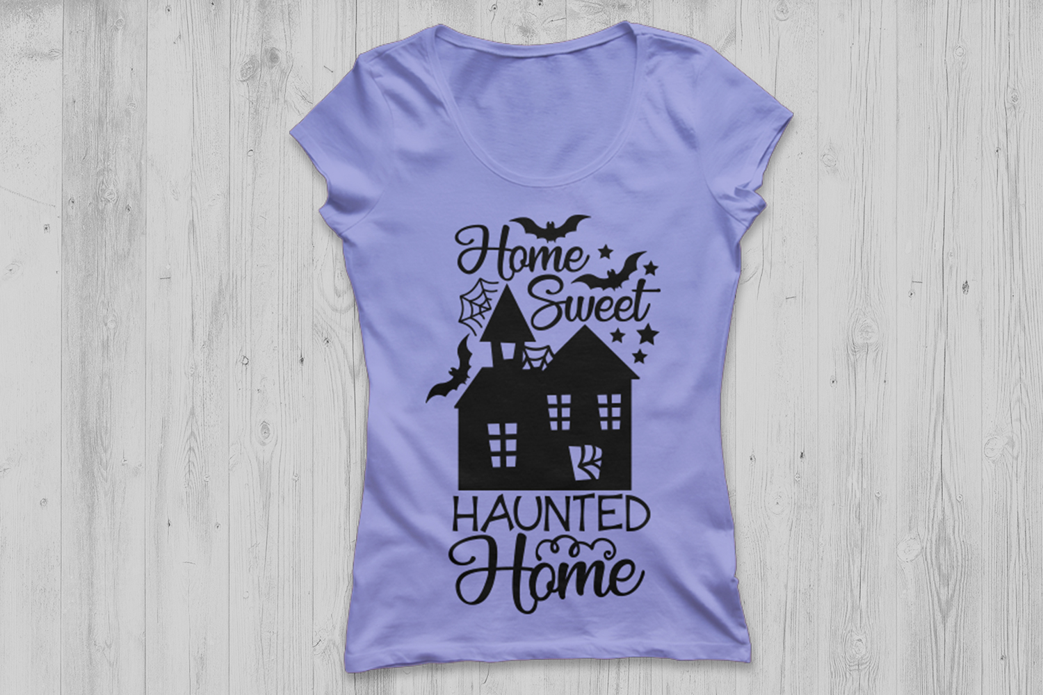 Home Sweet Haunted Home Svg, Halloween Svg, Haunted House. example image 2