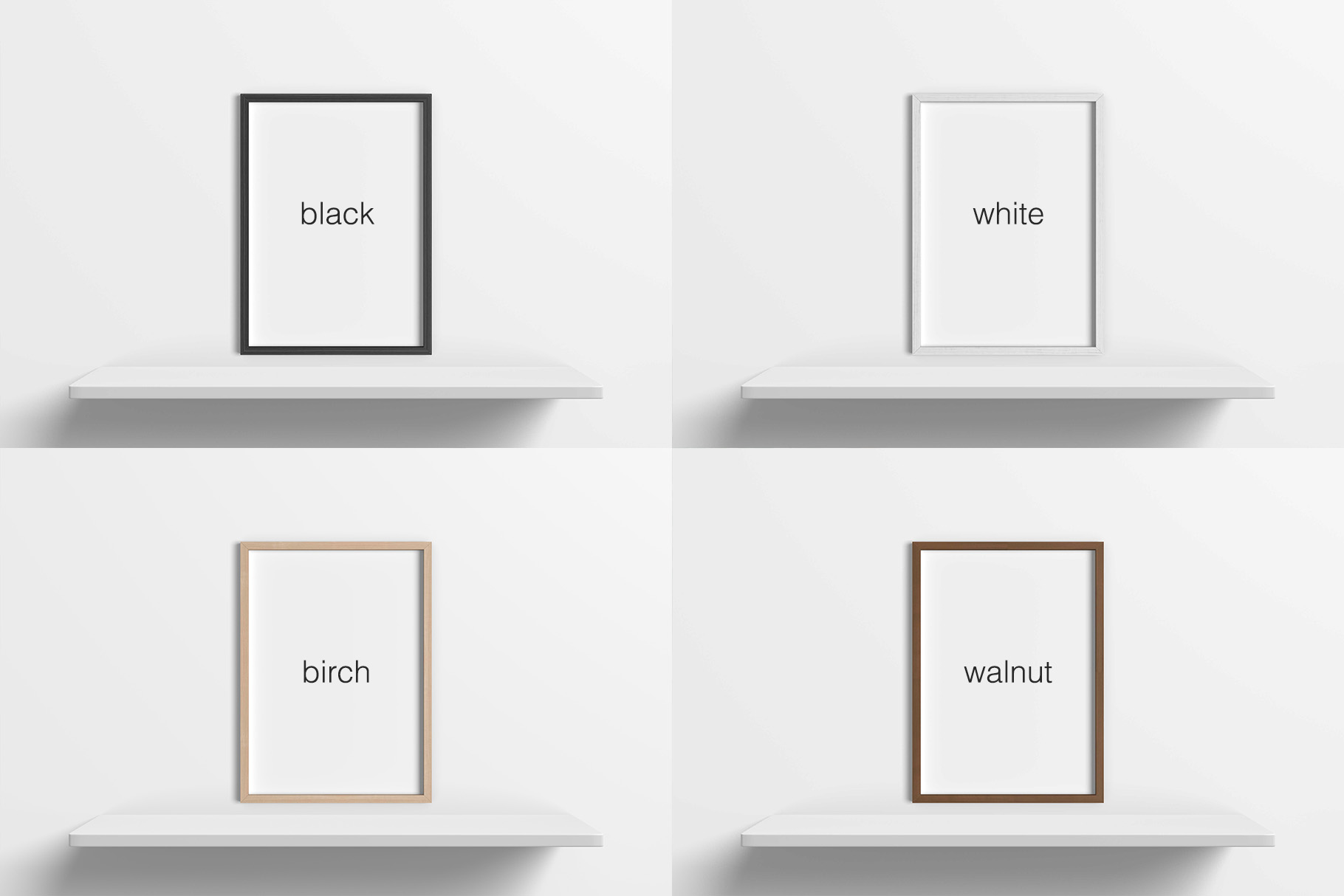 5x7 Inches Photo Frames Mockups example image 8