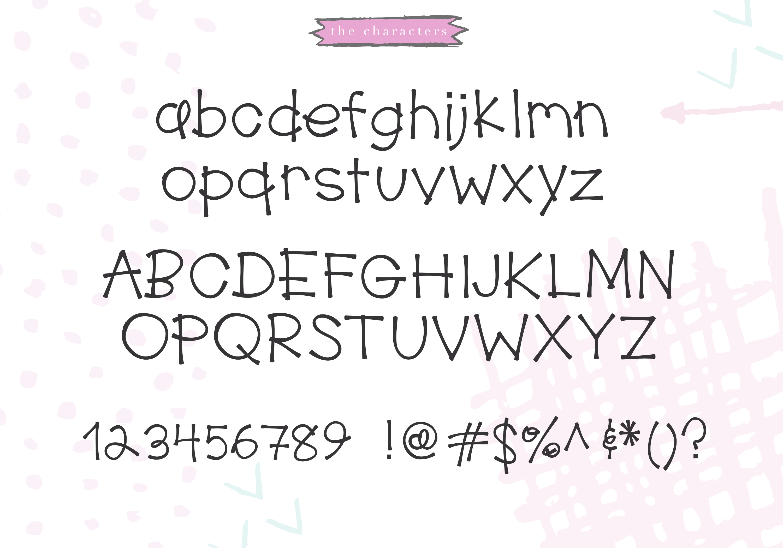 Water Park - A Cute Handwritten Font example image 6