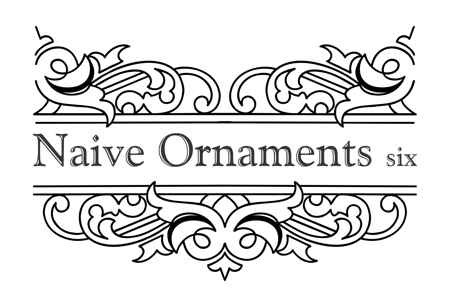 Naive Ornaments Six example image 5