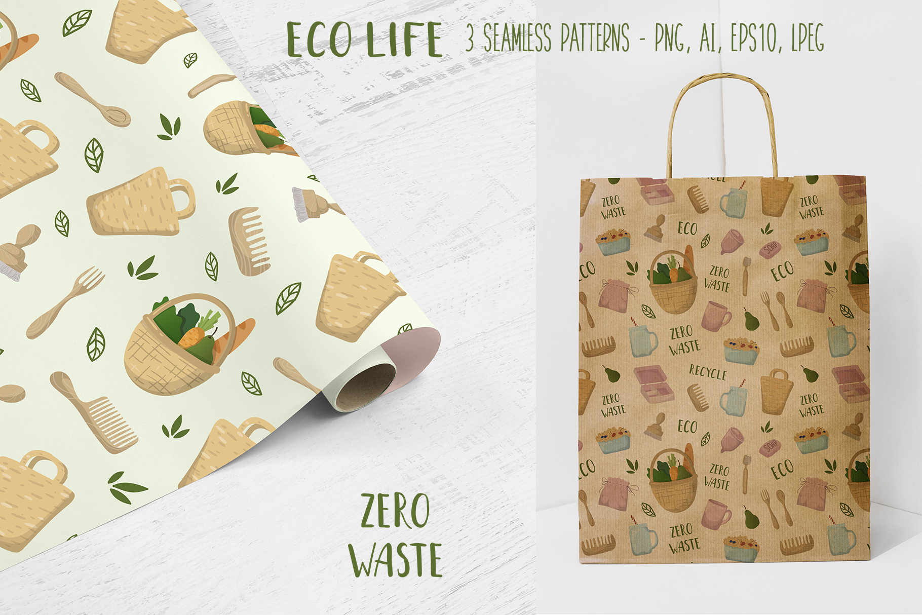 Zero Waste - Vector Collection example image 6