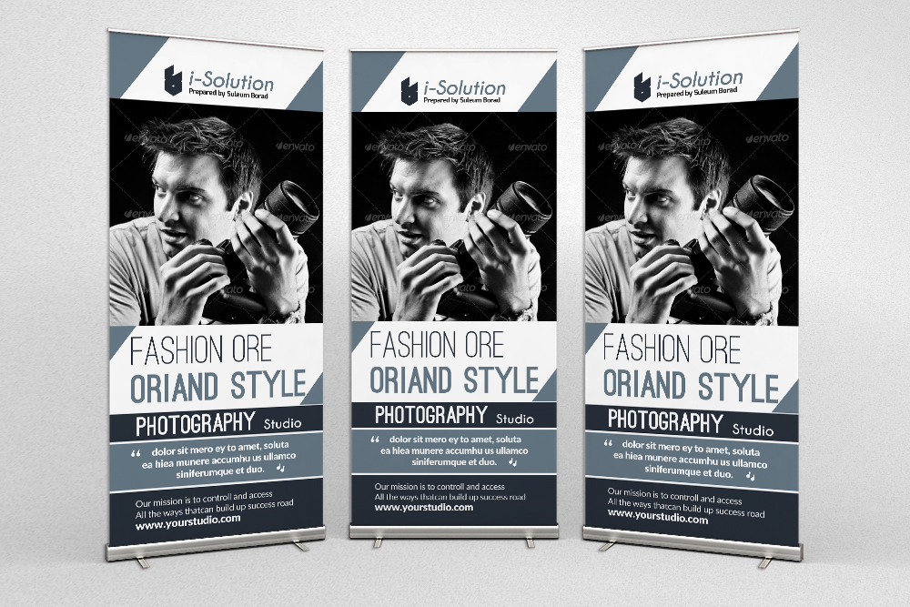 Photography Business Roll Ups Banners example image 1