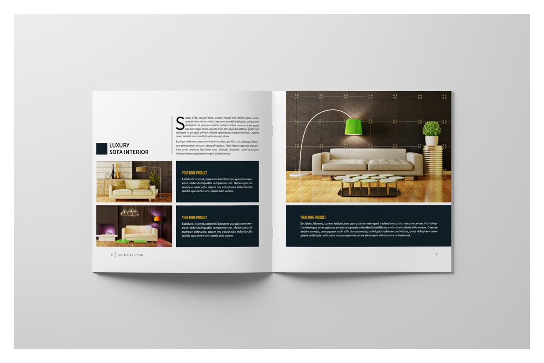 Square Brochure Catalog example image 8
