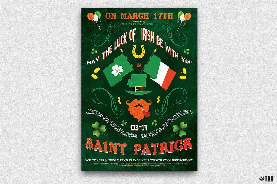 Saint Patricks Day Flyer Template V4 example image 2
