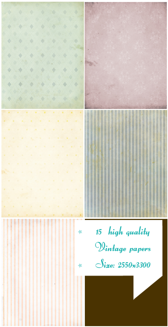 grunge papers texture pack example image 3