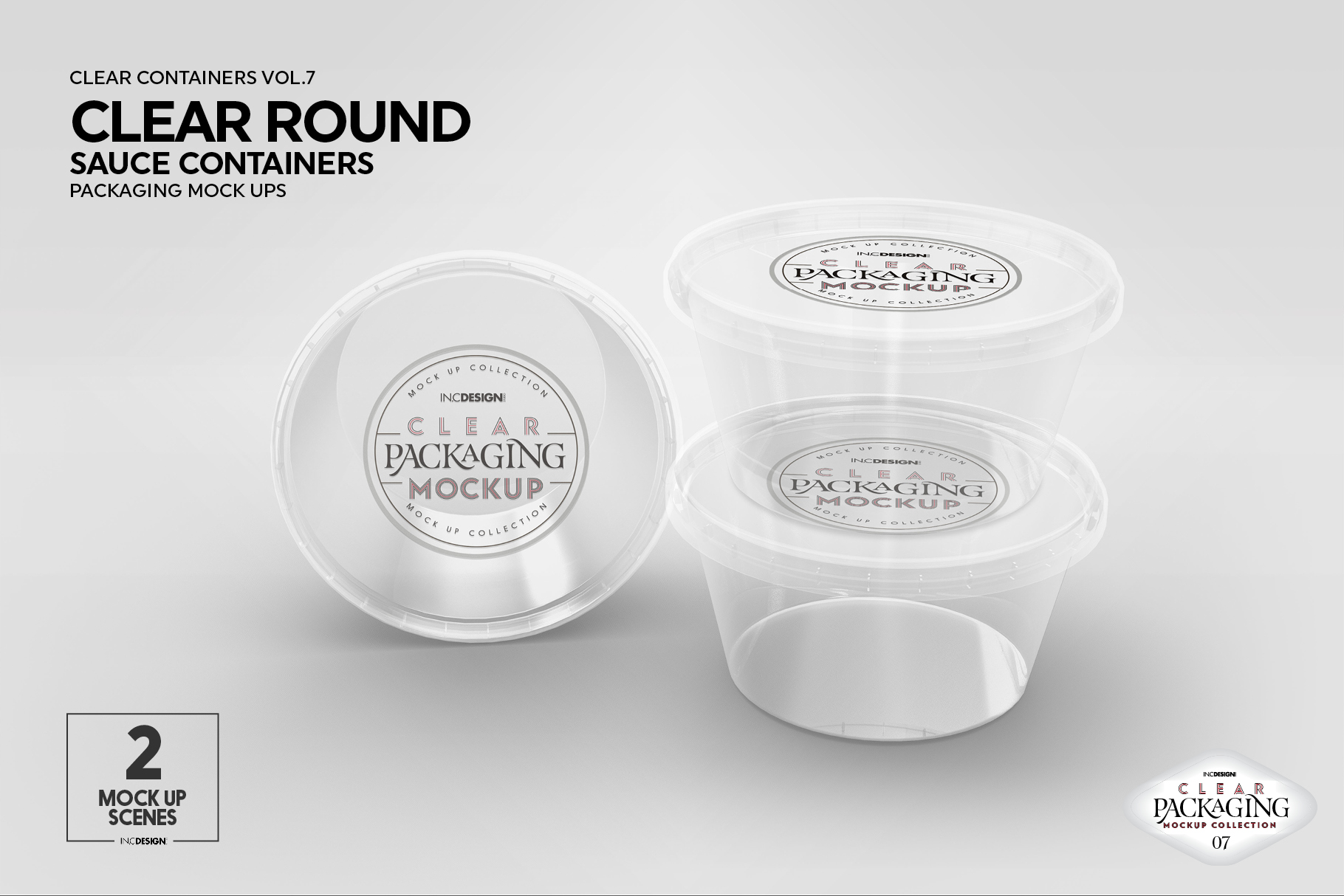 VOL.7 Clear Packaging Mockup Collection example image 4