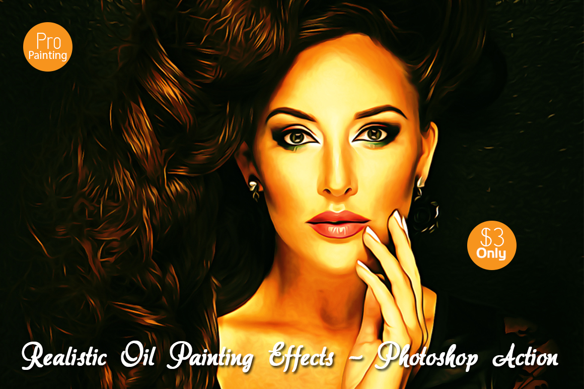 Realistic Oil Painting Effects v.5 example image 1