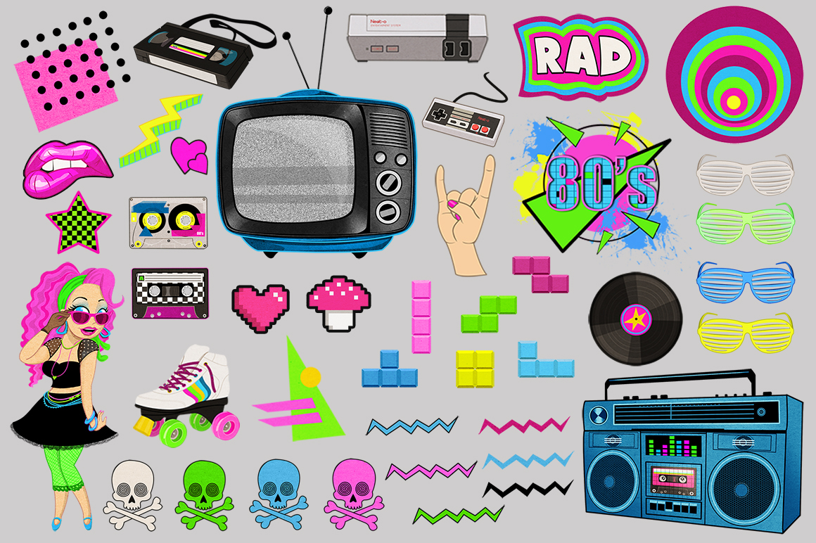Totally Awesome 80's Collection 2 example image 2