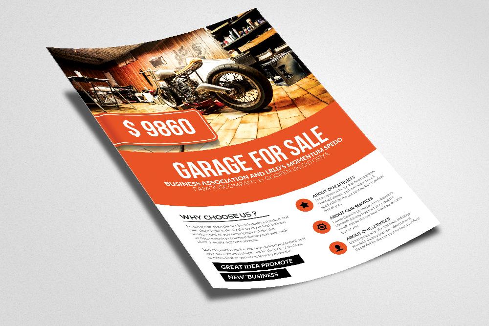 Garage Sale Promo Flyer Templates example image 2