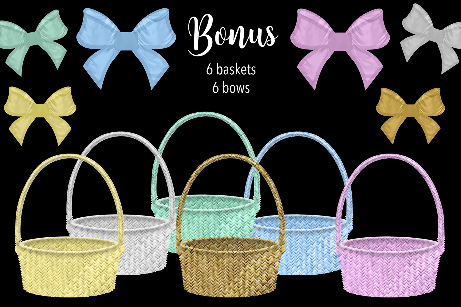 Easter Eggs Clipart example image 2