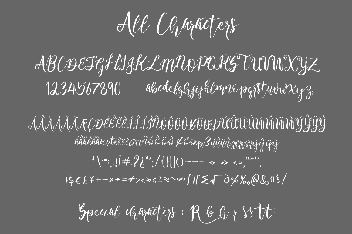 Wonder Angel Script Font example image 2