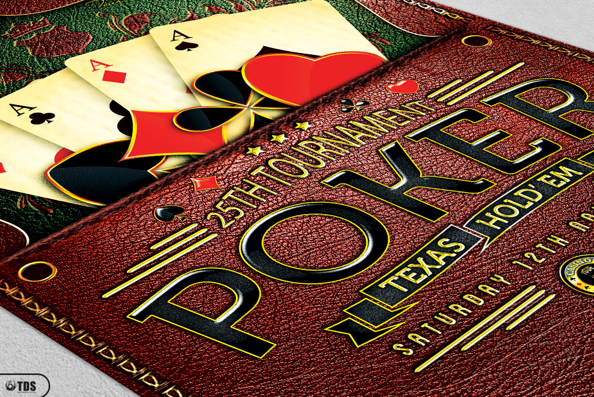 Poker Tournament Flyer Template example image 8