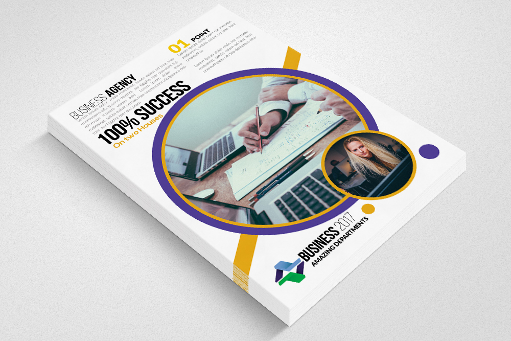 Small Business Consultant Flyer example image 3