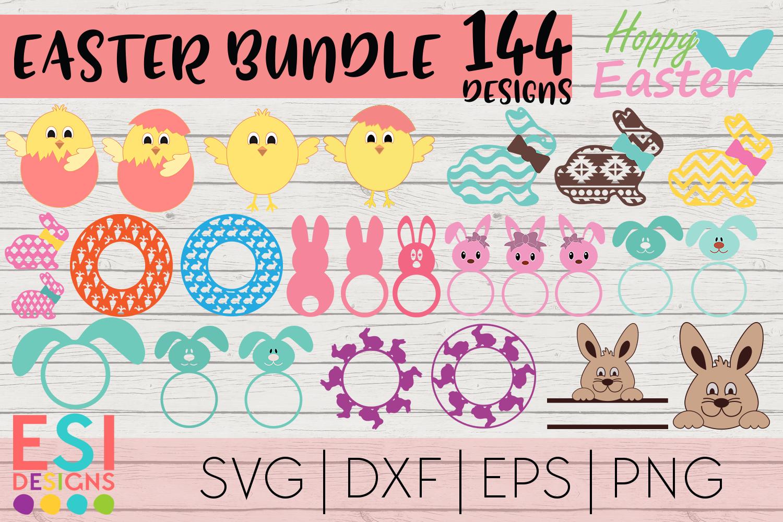 Easter Mega Bundle| Easter Bunny | SVG DXF EPS PNG example image 4