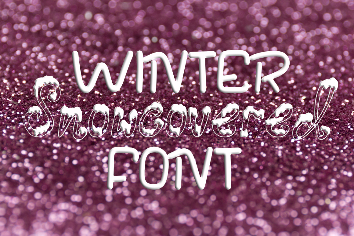 Three fonts for Christmas cards example image 7