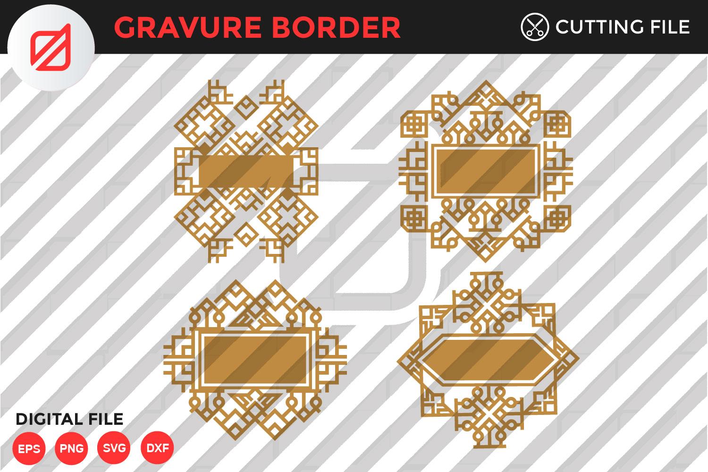 Get Aztec Ornaments – Svg, Dxf, Eps Cut Files Image