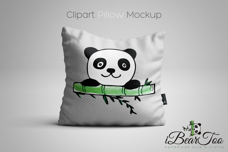 Panda SVG Watercolor Clipart Bear Drawing Vector Cut File example image 8