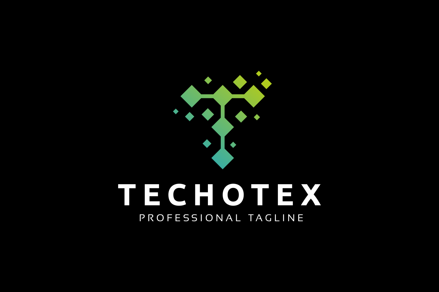 Techotex T Letter Logo example image 2