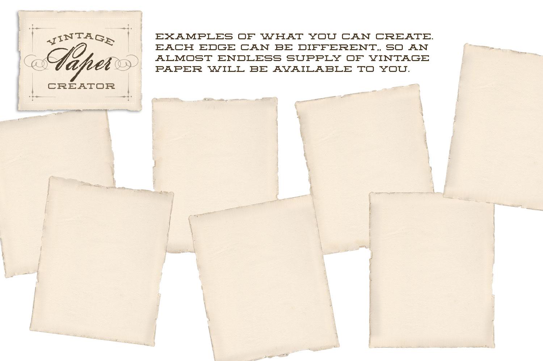 Vintage Paper Creator example image 4