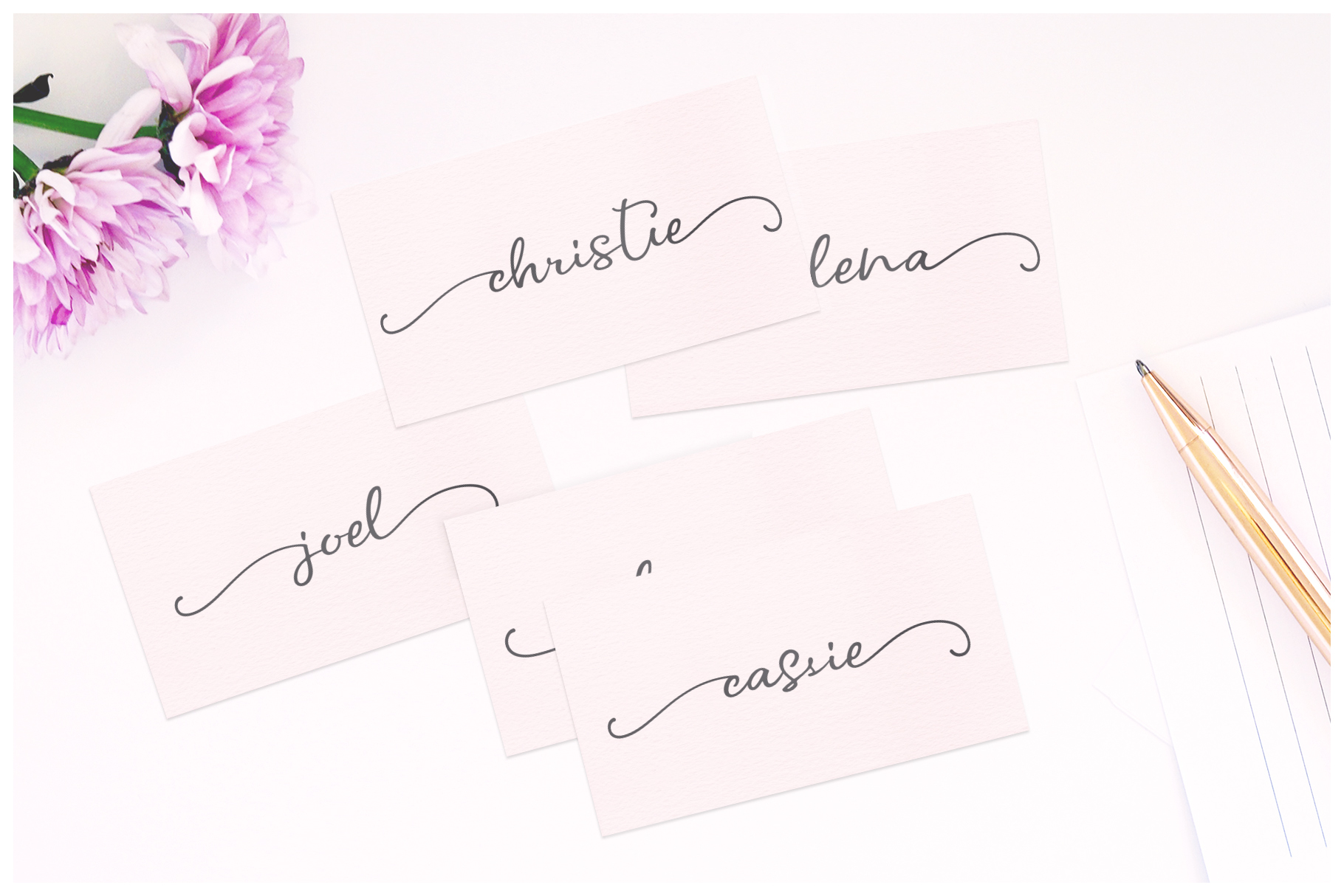 Ever After | A Modern Calligraphy Font example image 11