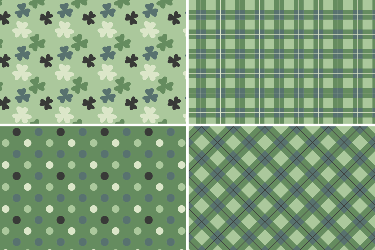 8 Seamless St. Patrick's Day Patterns Set 3 example image 8