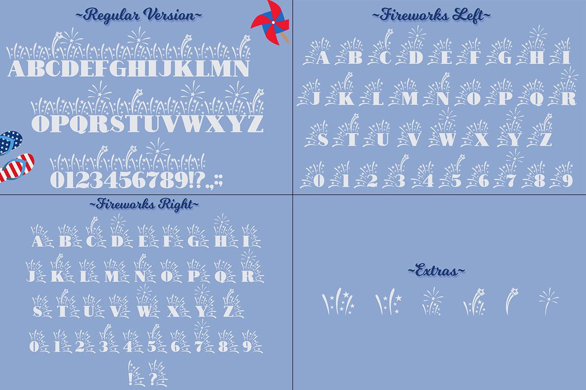 The Crafter's Font Bundle - 12 Font Families & Bonus Extras example image 17