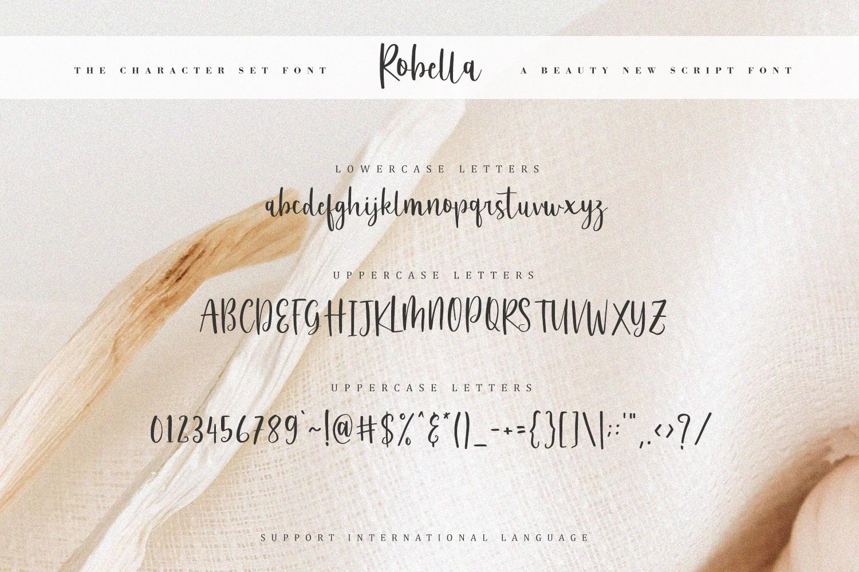 Robella // A Beauty Script Font example image 6