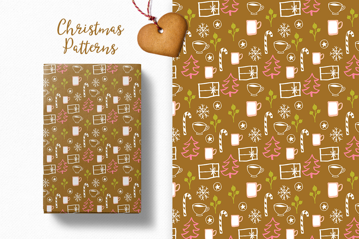 Christmas Pattern Collection example image 8