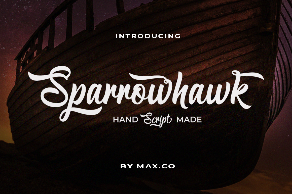 Sparrowhawk Script example image 1