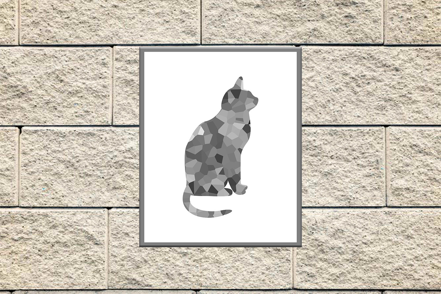 Cat Silhouette, Cat Poster, Cat Printable, Cat Wall, OFF50 example image 2