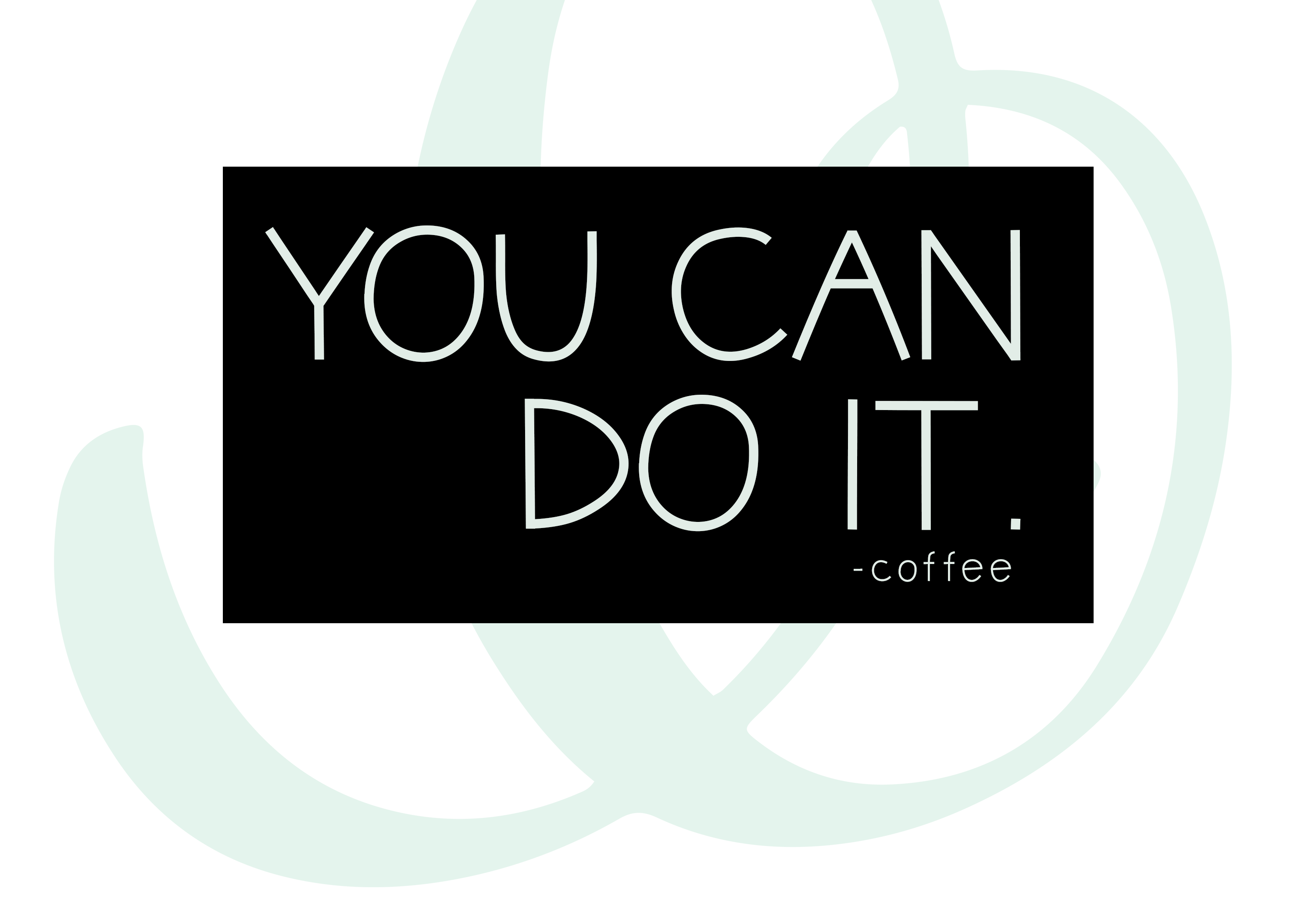 Iced Coffee - A Handwritten Font example image 7
