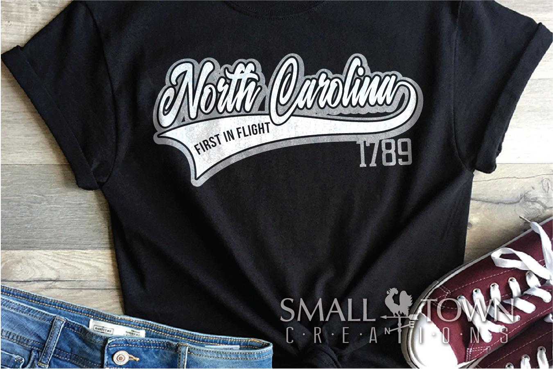 North Carolina, First in Flight-slogan, PRINT, CUT & DESIGN example image 2