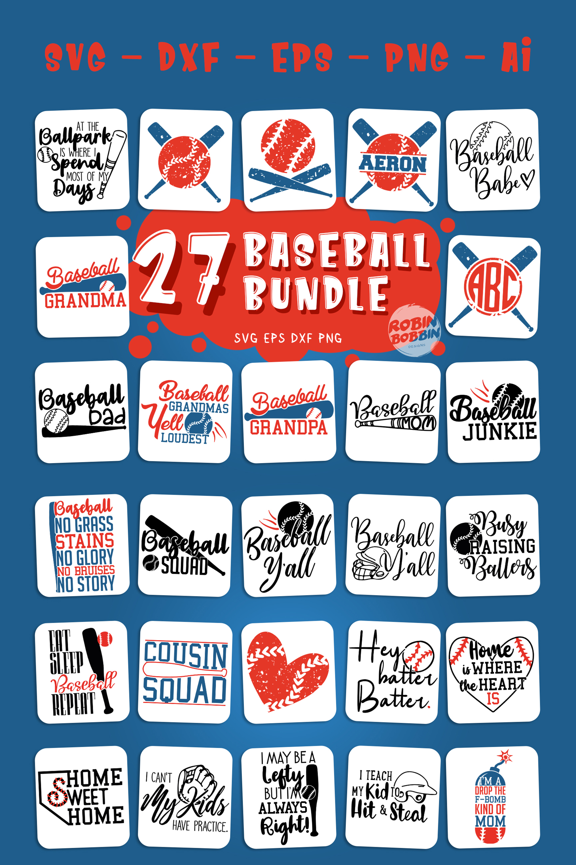 Big Baseball Bundle vol.1 - Baseball SVG Bundle example image 3