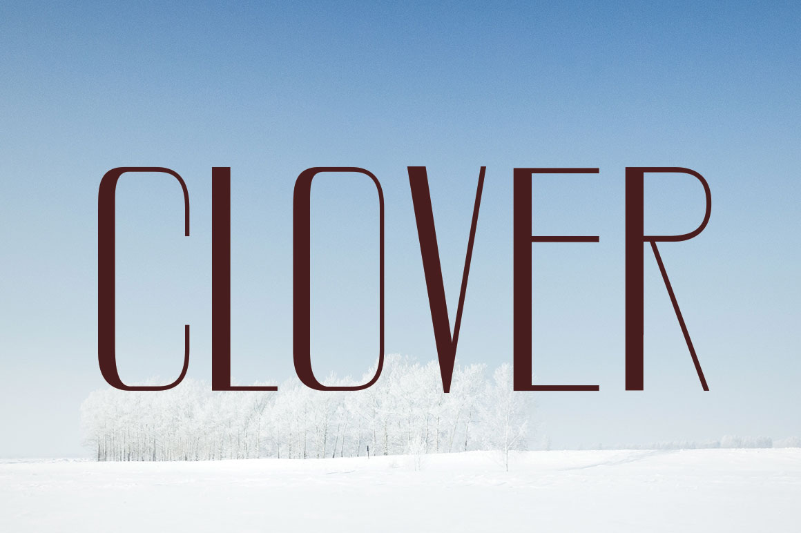 CLOVER FAMILY example image 6