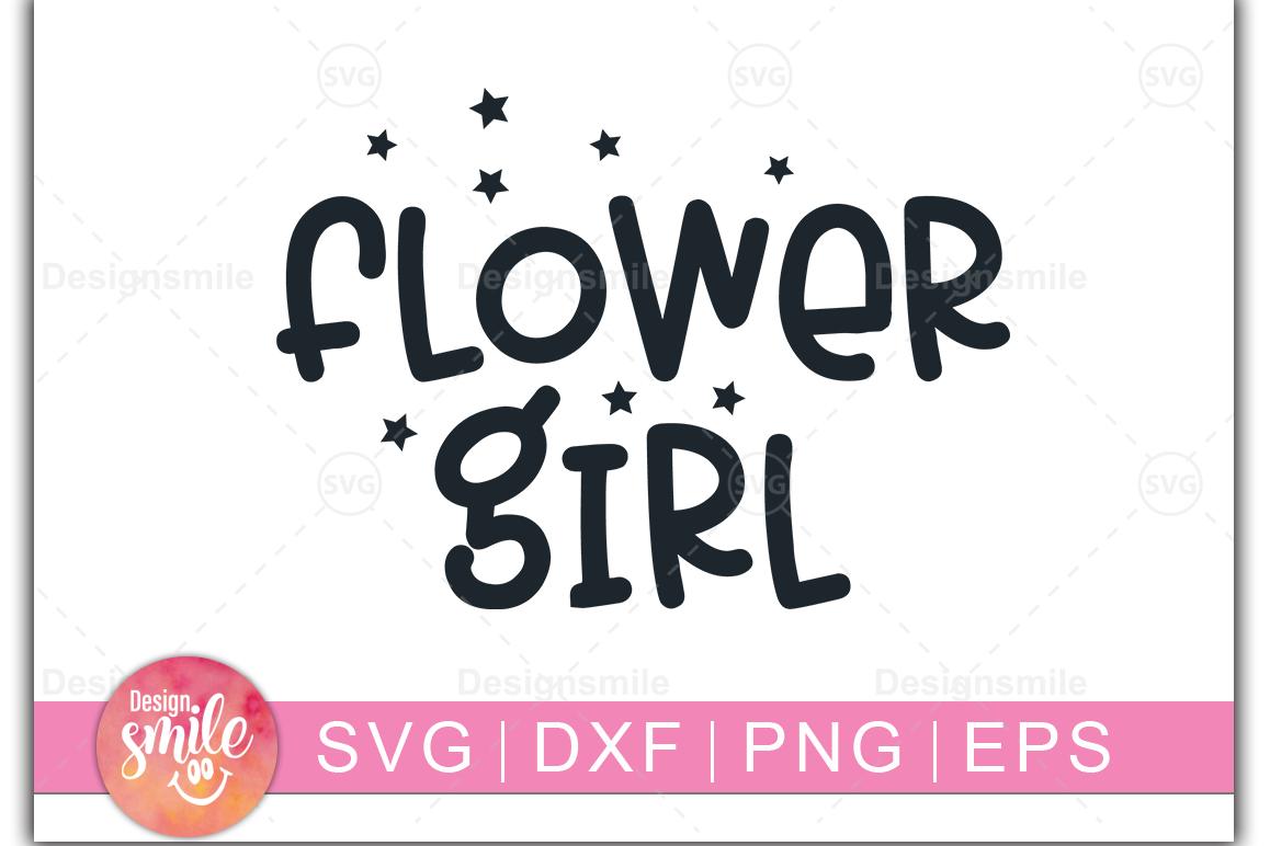 Flower Girl SVG | wedding svg |Engagement svg example image 1