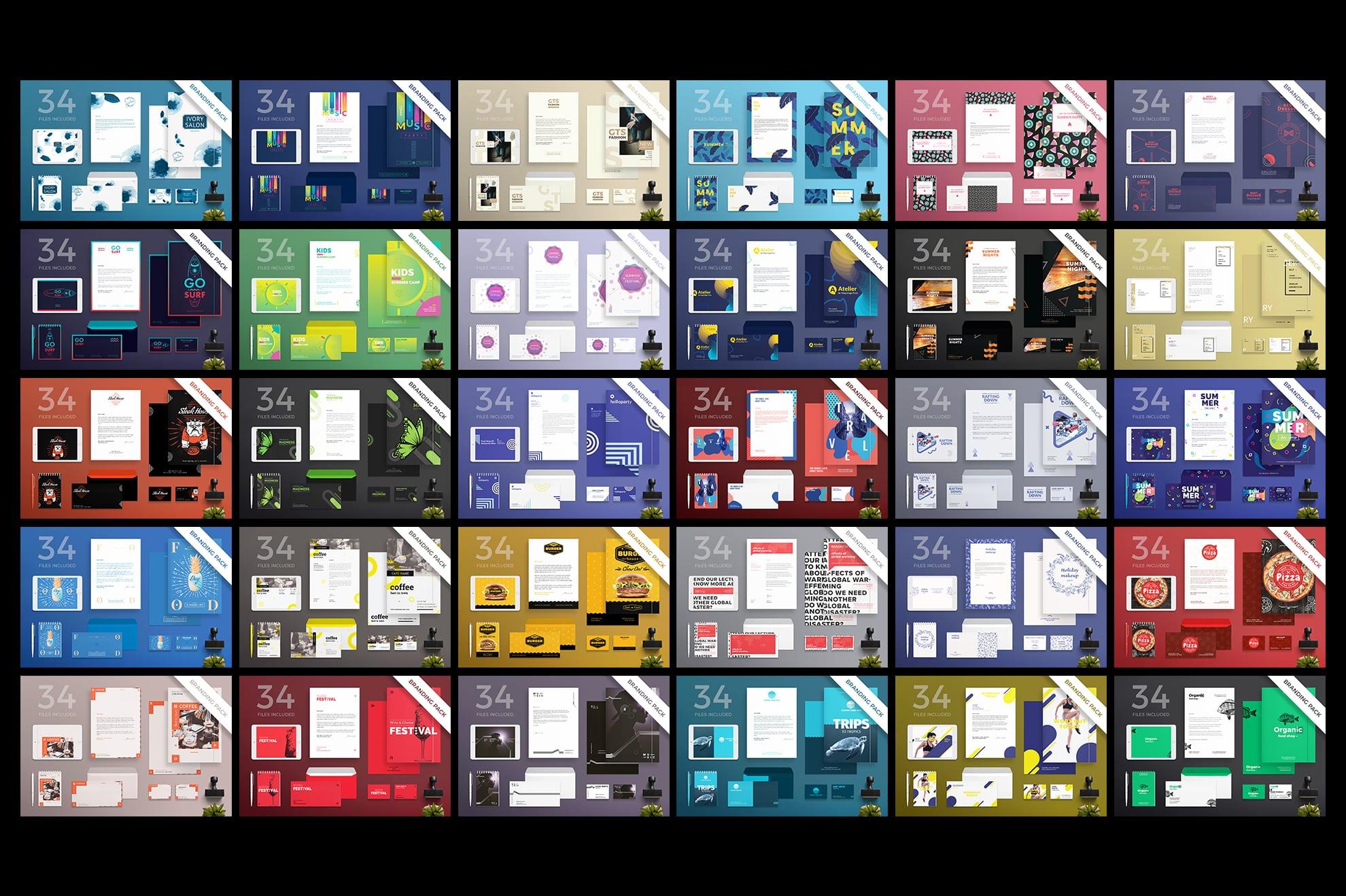 Brand Identity Design Templates Bundle SALE example image 4