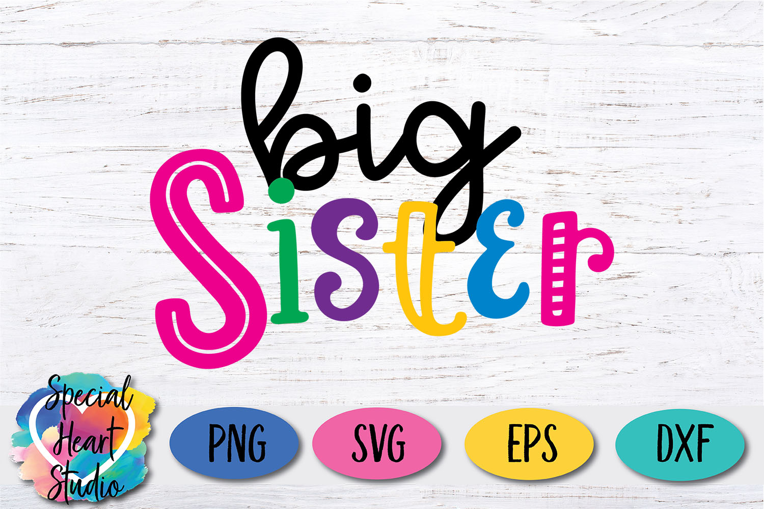 Big Sister - A family and sibling SVG example image 2