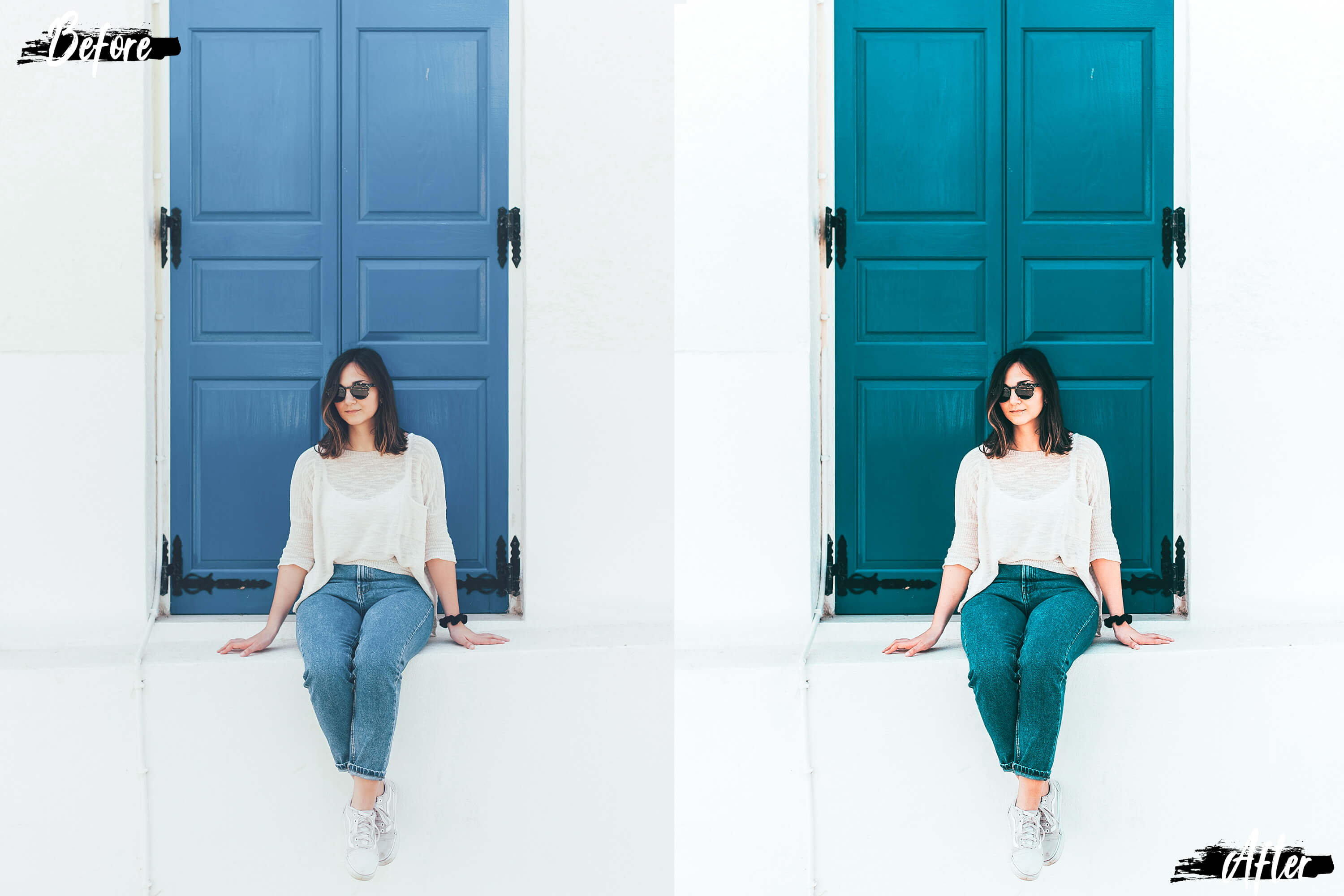 5 White Land Actions, ACR and LUT presets example image 3