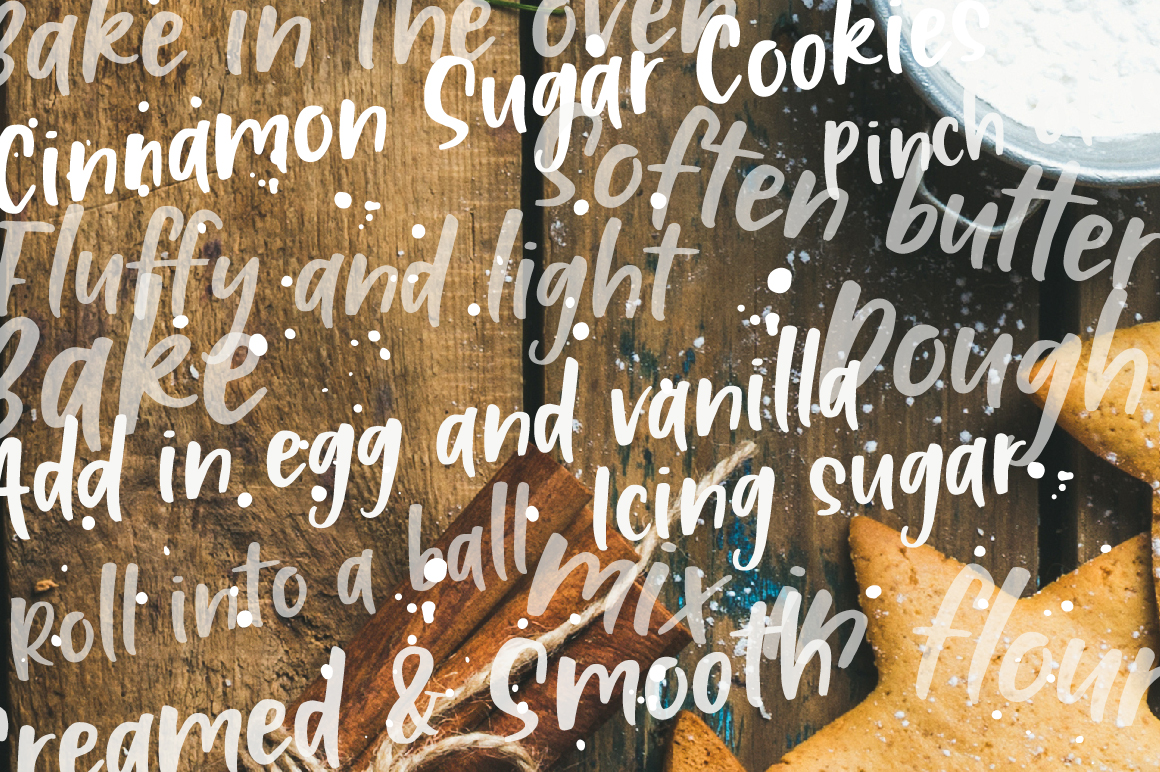 Cinnamon Spice - Handwritten Font example image 11