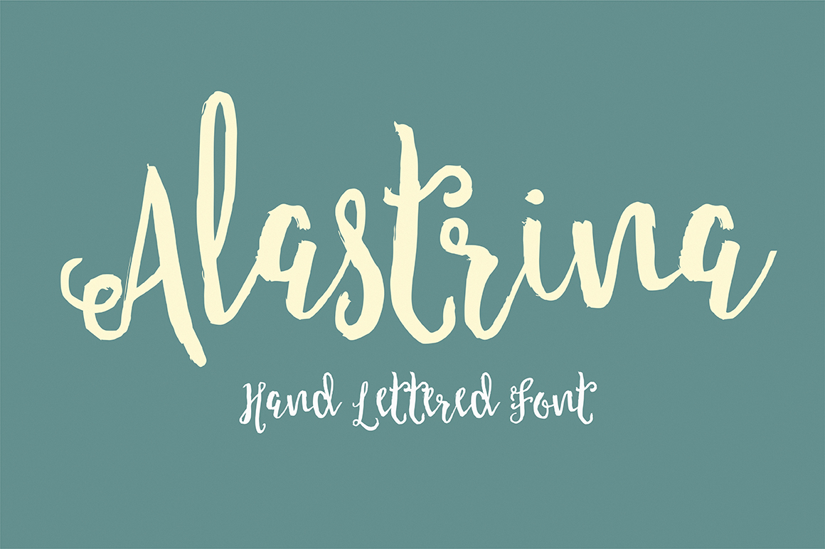 Alastrina Typeface example image 1