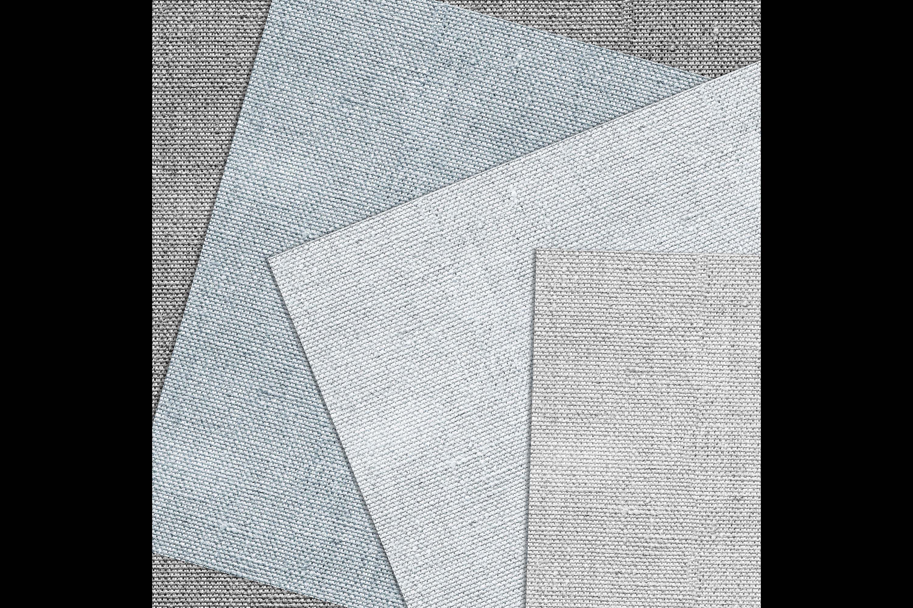 18 Seamless Realistic Neural Linen Burlap Digital Papers example image 6