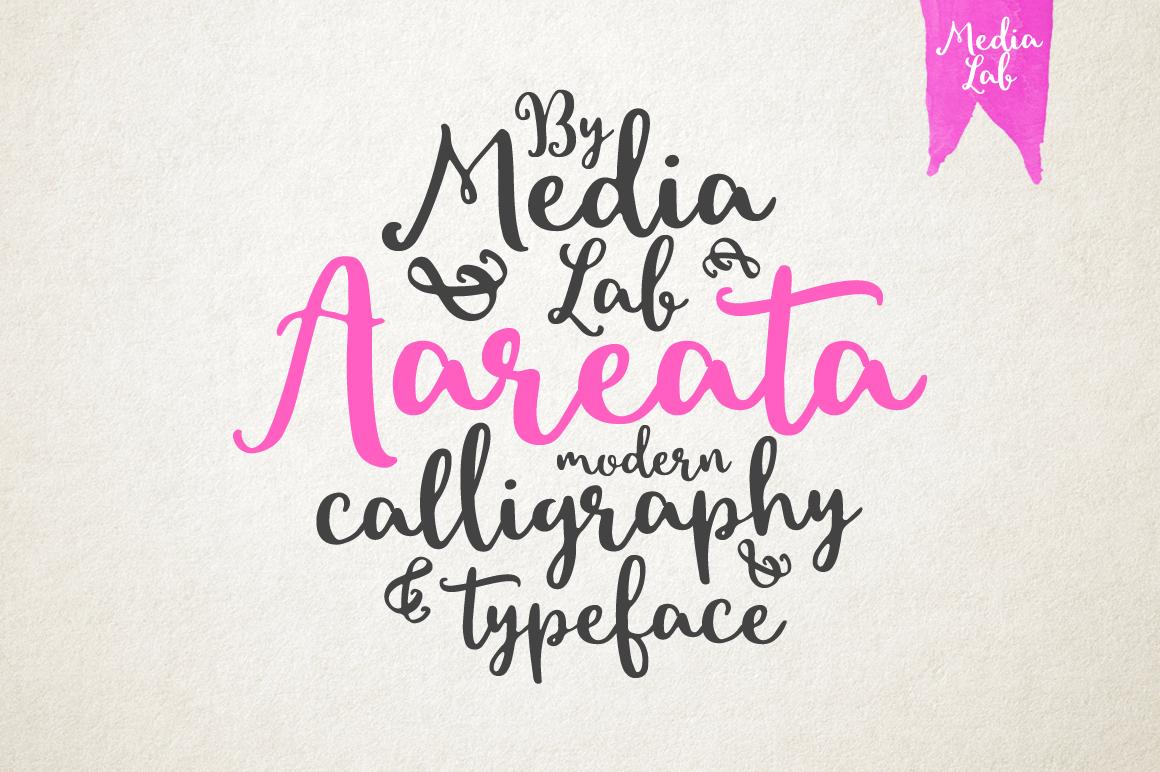 Aareata Script example image 1