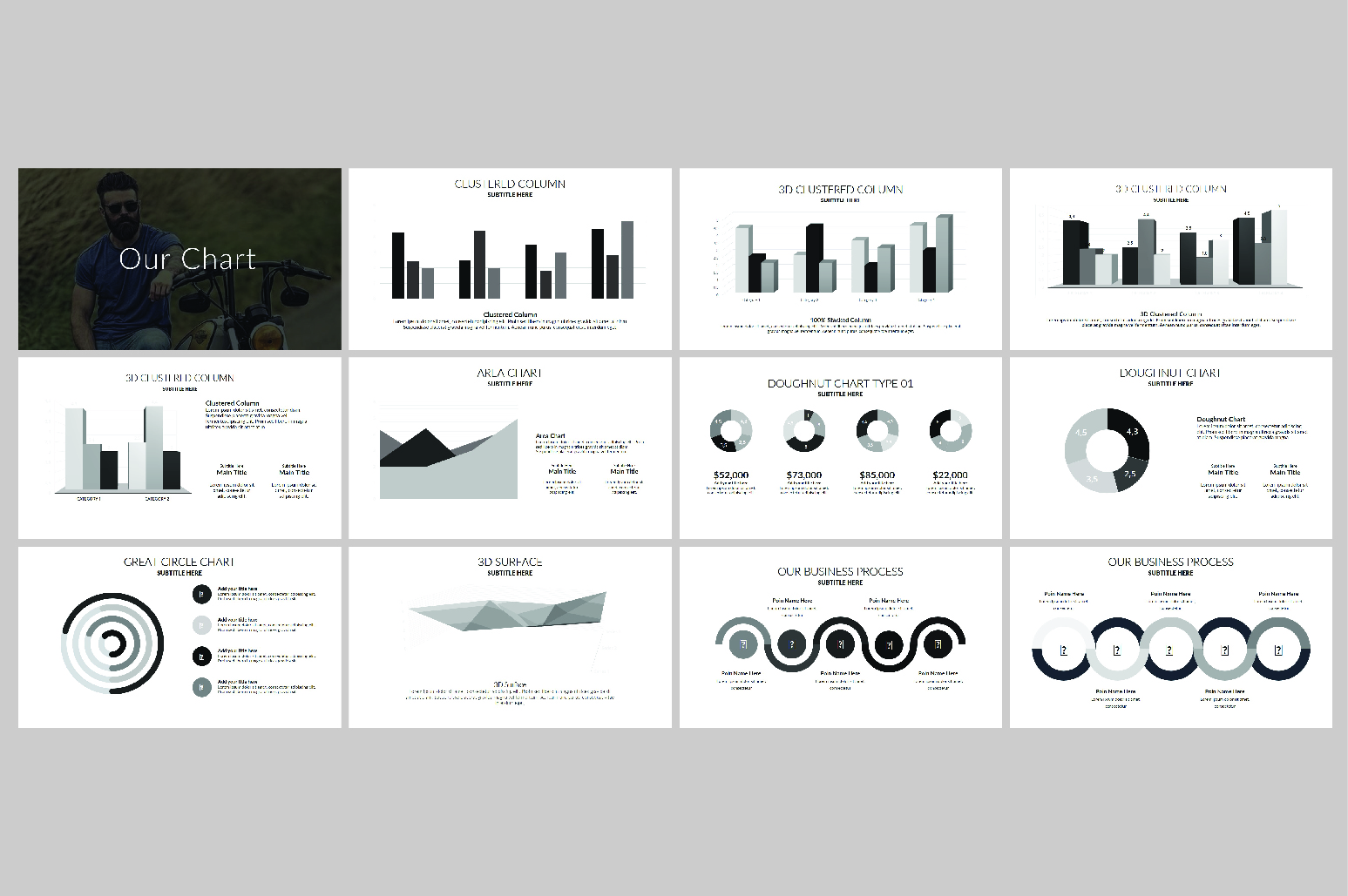 Hipsteria Business Keynote Template example image 10