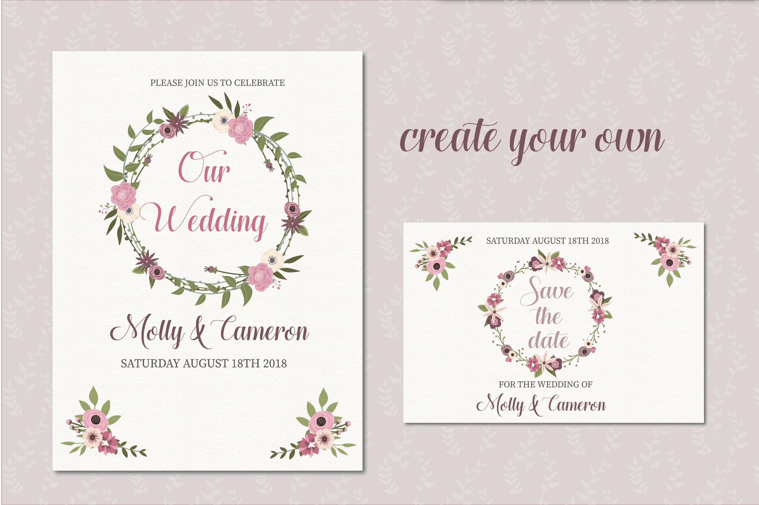 Wedding florals clipart example image 4