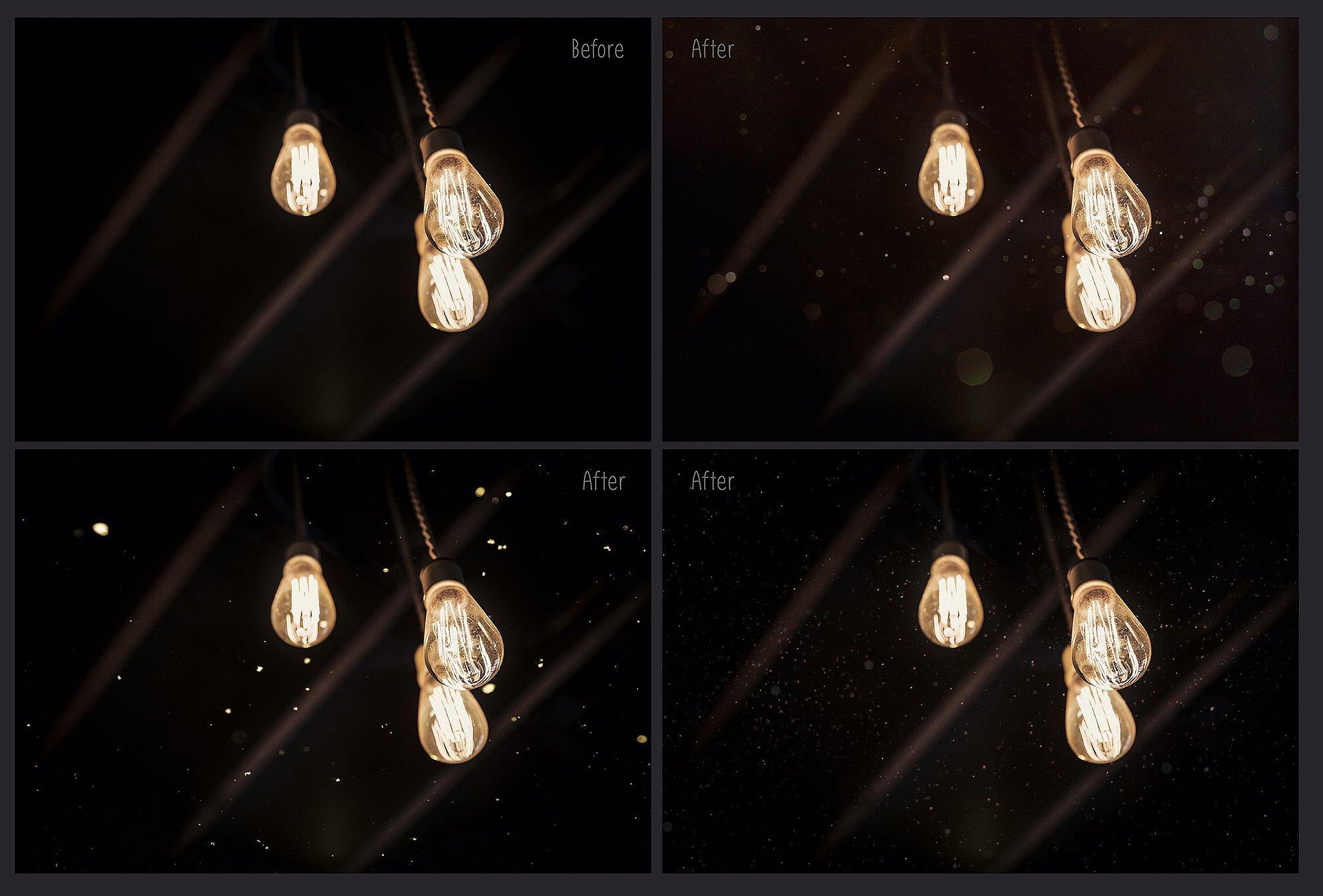 75 Floating Dust Photo Overlays example image 4