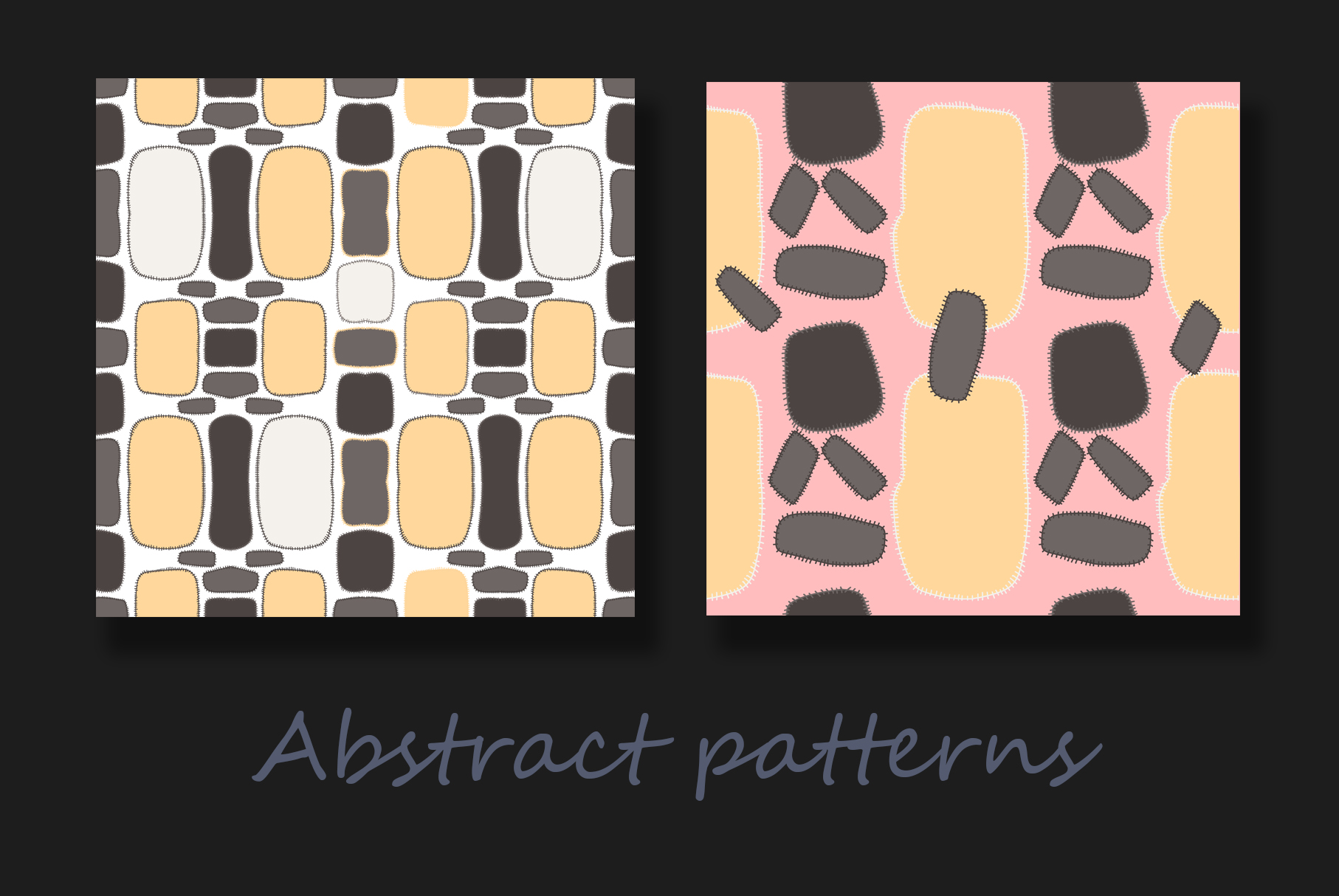 Colorful abstract patterns example image 8